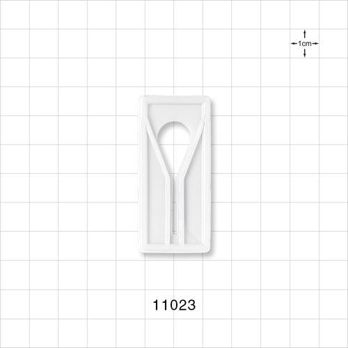 Slide Clamp, Natural White - 11023