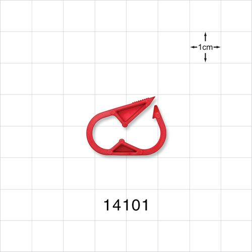 Pinch Clamp, Red - 14101