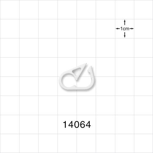 Pinch Clamp, White - 14064