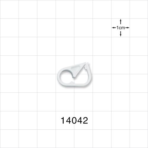 Pinch Clamp, White - 14042
