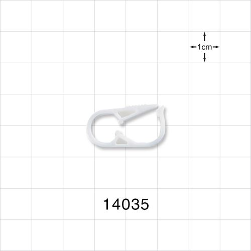 Pinch Clamp, White - 14035