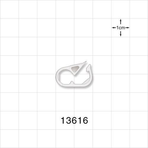 Pinch Clamp, White - 13616