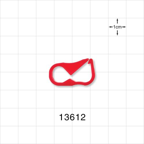 Pinch Clamp, Red - 13612