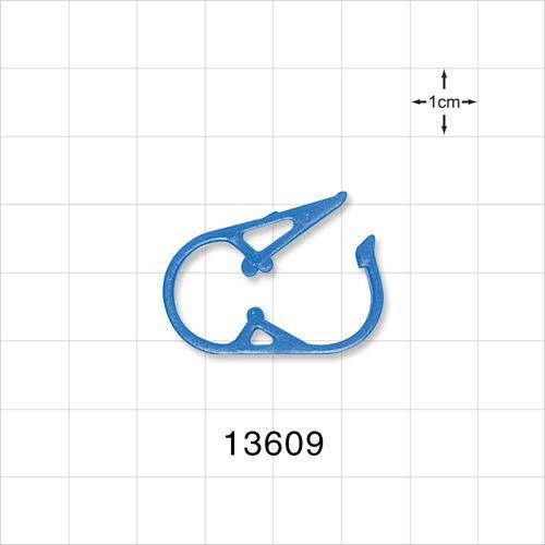Pinch Clamp, Blue - 13609