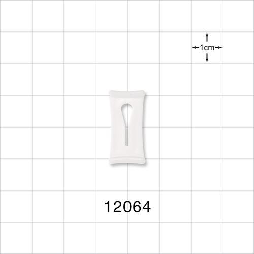Slide Clamp, White - 12064
