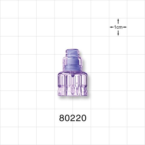 Needleless Injection Site, Swabbable Female Luer Lock to Vial Adapter - 80220