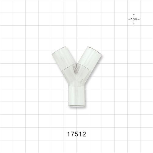 Y Connector, Flexible - 17512