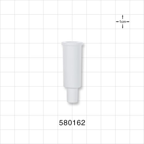 Suction Connector, White - 580162