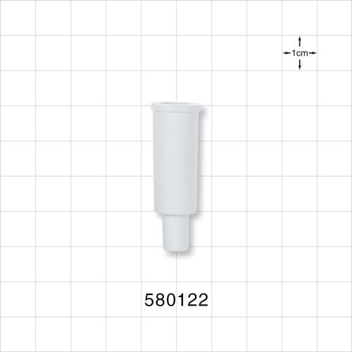 Suction Connector, White - 580122
