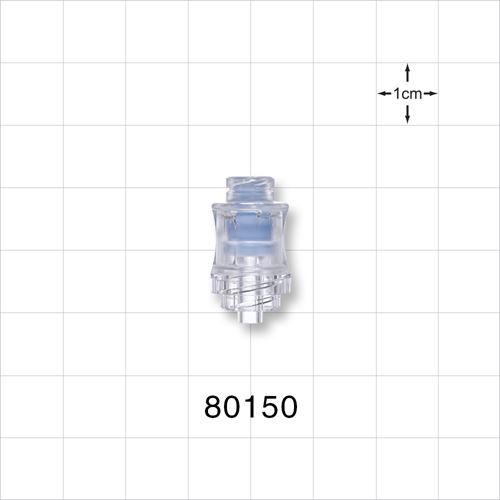 Needleless Injection Site, Swabbable, Female Luer Lock, Male Luer Lock - 80150