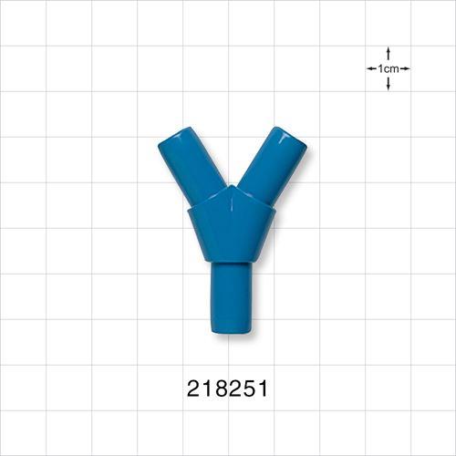 Y Connector, Blue - 218251