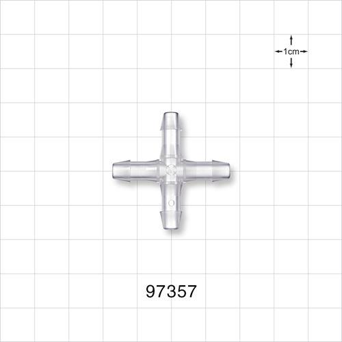 Cross Connector, Barbed - 97357