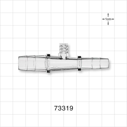 Straight Connector with Female Luer Lock Port - 73319