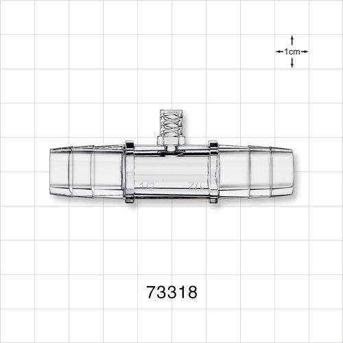Straight Connector, Female Luer Lock Port - 73318