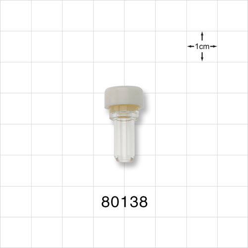 Injection Site, White, Latex-Free - 80138