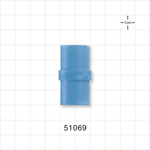 Straight Connector, Blue - 51069