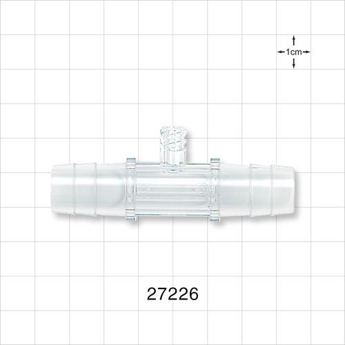 Straight Connector, Female Luer Lock Port - 27226