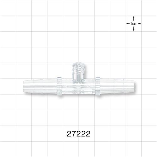 Straight Connector, Female Luer Lock Port - 27222
