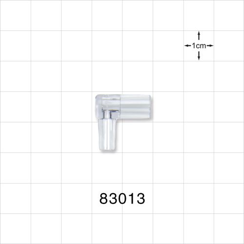 Right Angle Tubing Adapter, Large-Bore - 83013