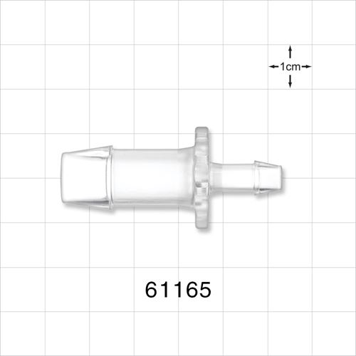 Straight Connector, Barbed, Clear - 61165
