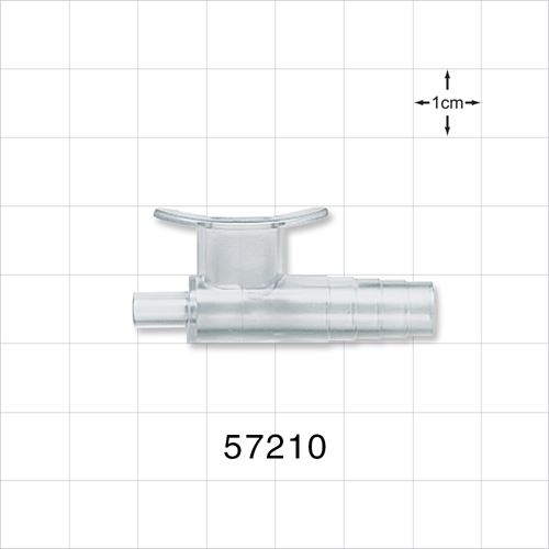 Suction Control Connector, Features an Internal Splash Guard - 57210