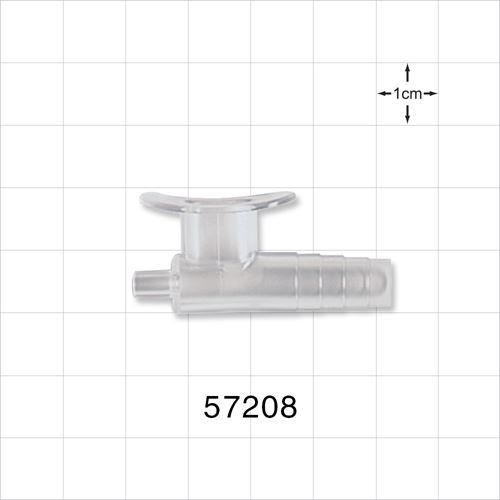 Suction Control Connector, Features an Internal Splash Guard - 57208