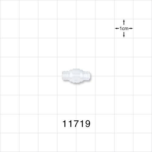 Threaded 10-32 UNF Nipple - 11719