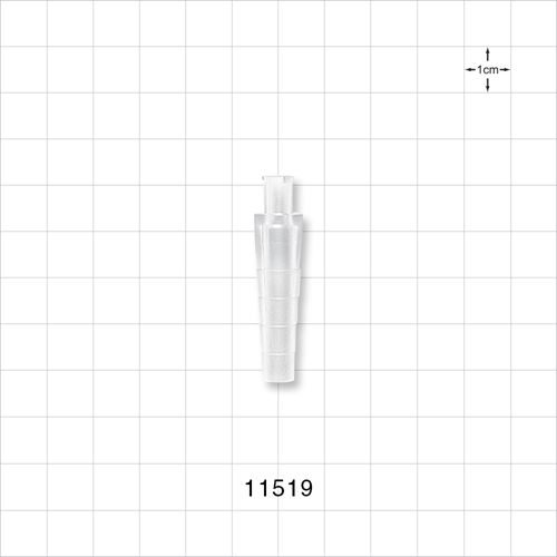 Stepped Female Luer Lock Connector - 11519