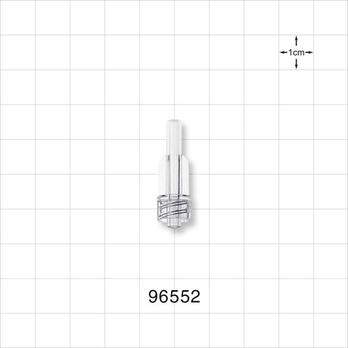 Male Luer Connector, Clear - 96552