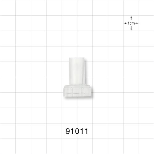 Non-Vented Cap for 91010 Shielded Female Connector - 91011