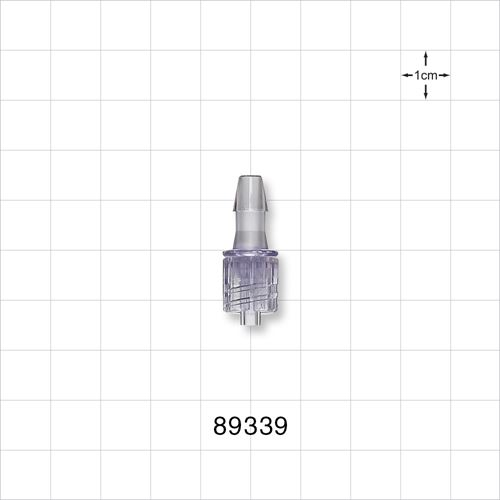 Male Luer with Spin Lock to Barb - 89339