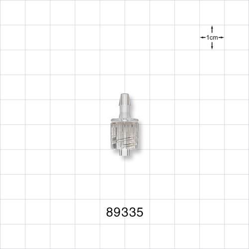 Male Luer with Spin Lock to Barb - 89335