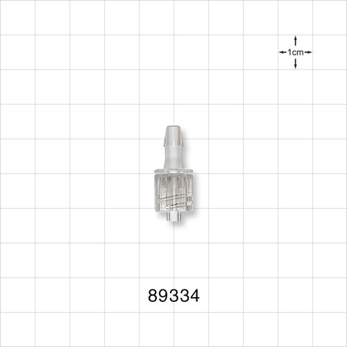 Male Luer with Spin Lock to Barb - 89334