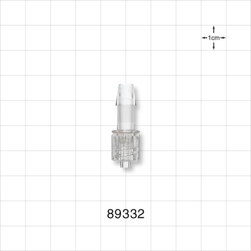 Male Luer with Spin Lock to Barb - 89332