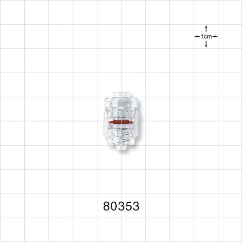 Rotating High Pressure Male Luer Lock Connector - 80353