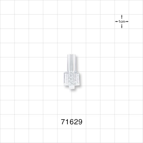 Male Luer Lock Connector, Clear - 71629