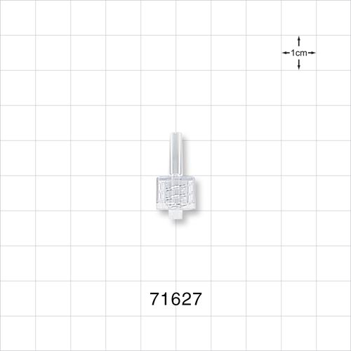Male Luer Lock Connector, Clear - 71627