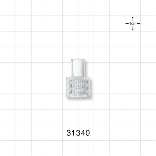 Connector, High Flow Male - 31340