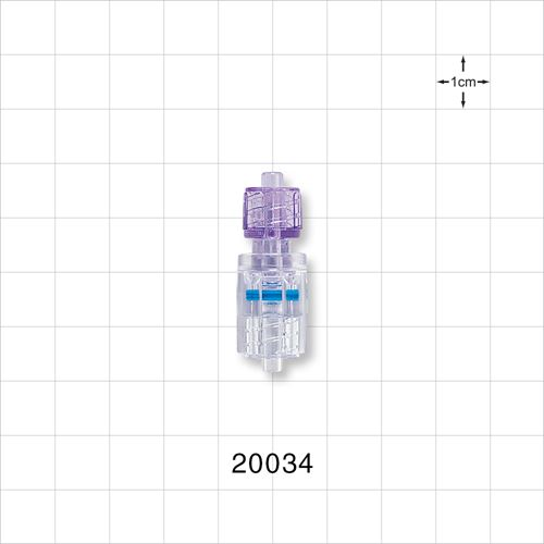 Male to Male Rotating Connector, High Pressure - 20034