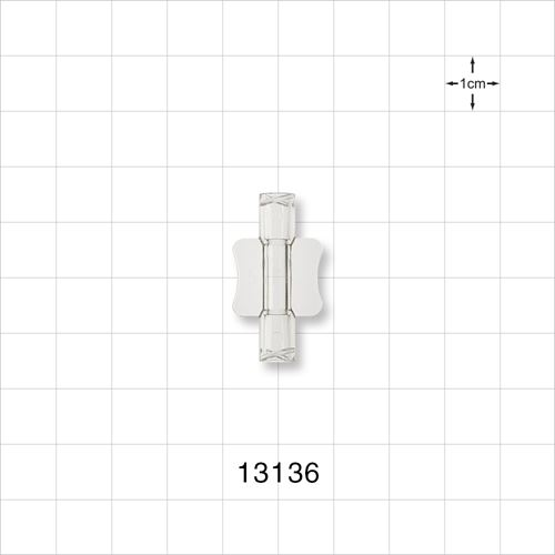 Female to Female Luer Lock Connector with Wings - 13136