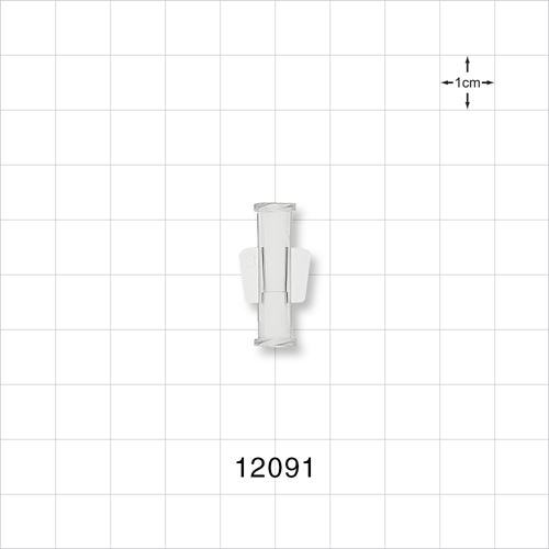 Female to Female Luer Lock Connector with Wings - 12091