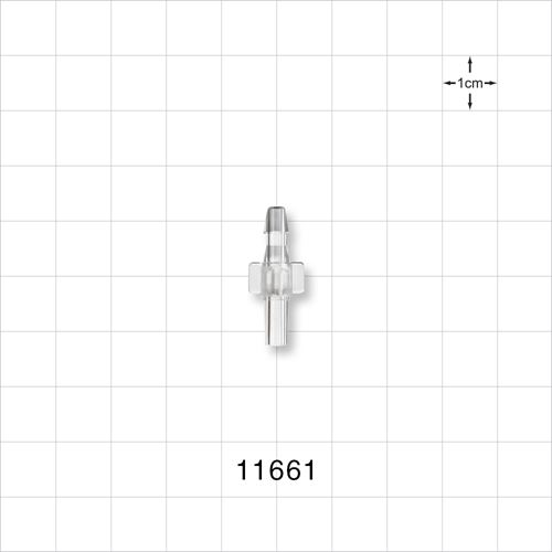Male Luer Slip to Barb Connector - 11661