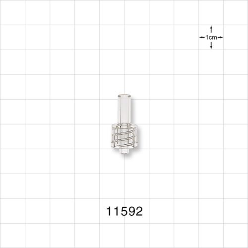 Male Luer Lock Connector - 11592