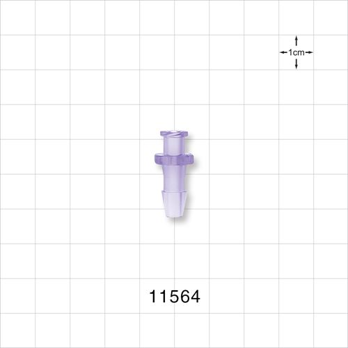 Female Luer Lock to Barb Connector - 11564