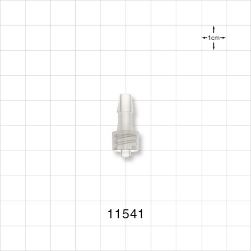 Male Luer Lock to Barb Connector - 11541