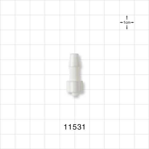 Male Luer Lock to Barb Connector - 11531