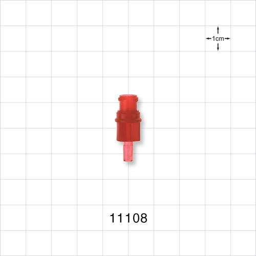 Female Luer Connector, Red - 11108