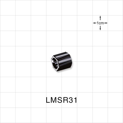 Spin Lock Ring, Black - LMSR31