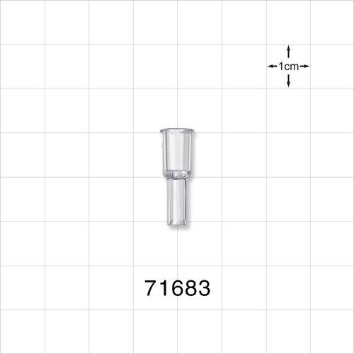 Female Luer Lock Connector, Wingless - 71683
