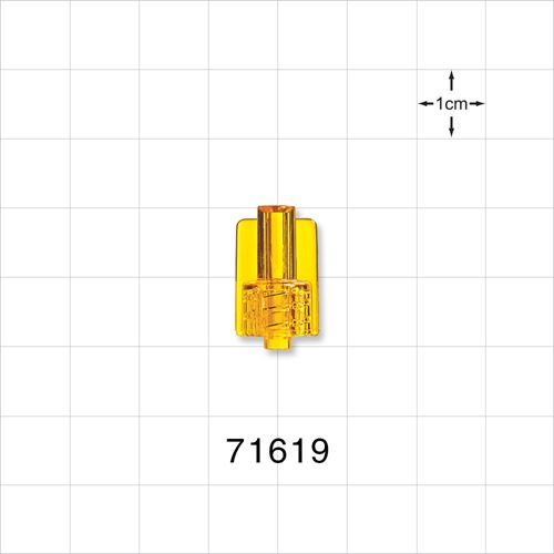 Male Luer Lock Connector, Yellow - 71619